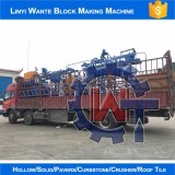 3 sets QT8-15 Block making machine line delivering to Russia