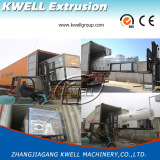 Plastic pipe extrusion line shipping