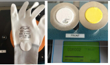 13 gauge nylon PU glove abrasion