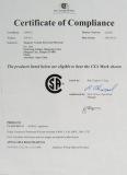 SA Certificate