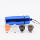 OEM antistatic & dustproof silicone earplugs with filter