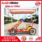 electric surrey bike electric 2 person, electric 4 person , electric 6 person