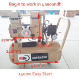 3N30 New Design Easy Start Oilless Air Compressor