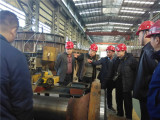 Turkish customer visit our factory