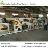 Rotary bar hot melt adhesive label coating machine