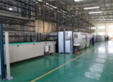 Italy Fully Automatic Metal Plate Flexible Manufacturing Line