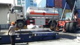 Fuel tanker truck to Maldives