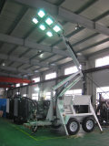 The heavy duty light tower will be sent to Australia