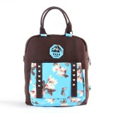 fashion backpack laptop student bag