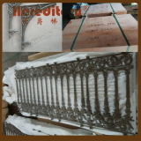 Customized Victoria Style Aluminum fence finished and delivery