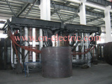 50t induction melting furnace