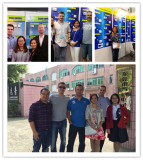 2016 spring Canton Fair at Guangzhou & customers visited.