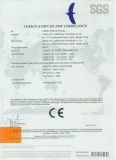 CE certification for SLMR16-1W/3W/5W