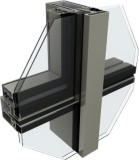 Semi-Concealed Frame Glass Curtain Wall