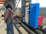 Three Axis Pipe Cutter Onsite
