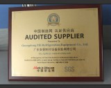 Audited Supplier Approved by SGS in 2011