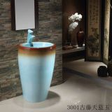 Two-Colors One Piece Washbasin