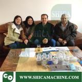 Middle east client visit factory