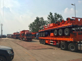 One More Batch of Trucks are Accessing to Southeast Asia Countries