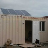off-grid solar home system in Chile