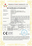 CE certificate of MR16-2S for Micro Needle Skin rejuvenation