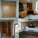 red oak wardrobe kitchen cabinet bookcase