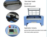 Metal and Nonmetal CO2 Laser Cutting Machine LZ-1390ML