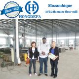 Mozambique client maize mill