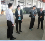 Thailand customer Visited Lucy New Energy Technology Company