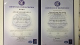 ISO9001 certificate of nonwoven fabric