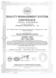 ISO Quality Management System Certificated