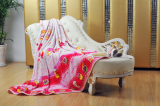 POLYESTER PRINTED FLANNEL BLANKET