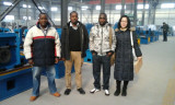 Kenya customers visit our factory