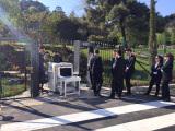 AT300 Walk through metal detector in Turkey