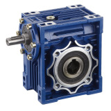 Hollow shaft worm gear speed reducers