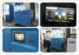 Permanent magnet screw air compressors