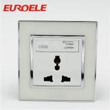 Universal type wall socket with USB