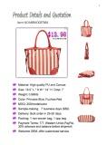 Canvas Catalog for Women Fashion Handbags| Quotation