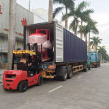 Products loaded to Container