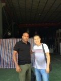 Ethiopia Customer in our factory