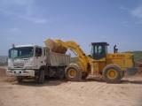 wheel loader is working in Brazil