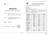 silicon products MSDS report