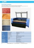Textile Cutting Laser Machine