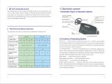 Golf cart users′ manual and service manual