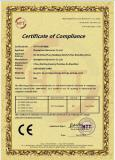 CE Certificate for USB SOUND CARD