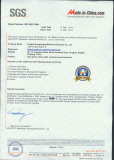 SGS Audited Factory Certification