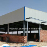 High quality steel building on site installation in Algeria