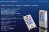 Newest Metal Case Door Standalone Access Controller Access control system