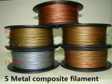 5 Metal composite 3D printer filament
