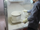 glaze spraying